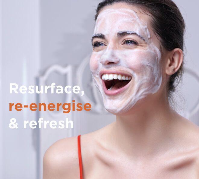 Resurface, re-energise & refresh